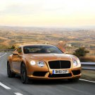 "Bentley Continental GT V8 Car Poster Print on 10 mil Archival Satin Paper 16"" x 12"""