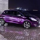 """Peugeot 208 XY Concept Car Poster Print on 10 mil Archival Satin Paper 16"""" x 12"""""""