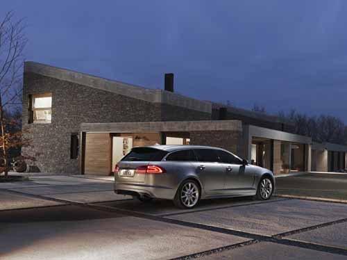"Jaguar XK Sportbrake Car Poster Print on 10 mil Archival Satin Paper 36"" x 24"""