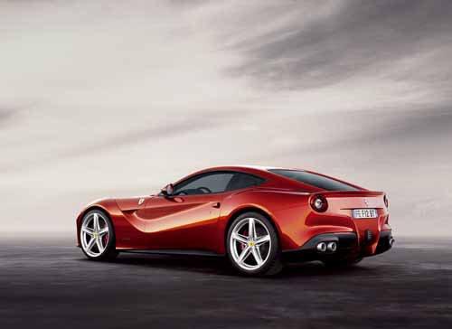 """Ferrari  F12berlinetta Car Poster Print on 10 mil Archival Satin Paper 24"""" x 18"""""""