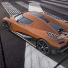 "Koenigsegg Agera R Car Poster Print on 10 mil Archival Satin Paper 16"" x 12"""