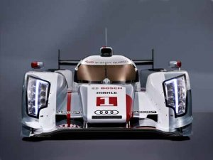 "Audi R18 E Tron Quattro Race Car Poster Print on 10 mil Archival Satin Paper 16"" x 12"""