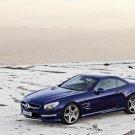 "Mercedes-Benz SL 65 AMG Car Poster Print on 10 mil Archival Satin Paper 16"" x 12"""