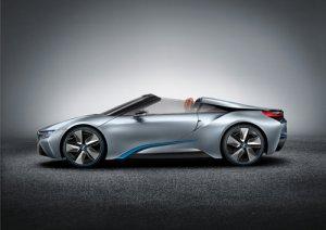 "BMW i8 Spyder Concept Car Poster Print on 10 mil Archival Satin Paper 24"" x 18"""