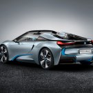 "BMW i8 Spyder Concept Car Poster Print on 10 mil Archival Satin Paper 36"" x 24"""