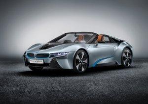 "BMW i8 Spyder Concept Car Poster Print on 10 mil Archival Satin Paper 36"" x 24"""