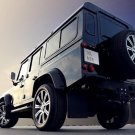 "Vilner Land Rover Defender Car Poster Print on 10 mil Archival Satin Paper 20"" x 15"""