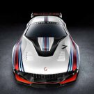 "Italdesign Giugiaro Brivido Martini Racing Car Poster Print on 10 mil Archival Satin Paper 16"" x 12"""