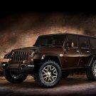 "Jeep Wrangler Sundancer Concept (2014) Car Art Poster Print on 10 mil Archival Satin Paper 17""x11"""