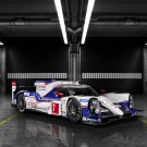 "Toyota TS040 Hybrid (2014) Race Car Art Poster Print on 10 mil Archival Satin Paper 36"" x 24"""
