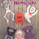 Halloween Hang-Ups Plastic Canvas Wall Hangings Pattern Book NEW