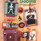 Ghouls & Goblins, Halloween Decorations, Plastic Canvas Pattern Book NEW