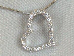 Sterling silver heart #335