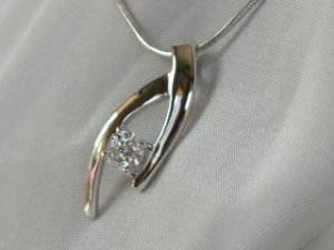 Catcher in sterling silver #312