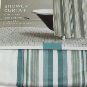 teal striped shower curtain. Target Home Teal Blue Green Stripe Fabric Shower Curtain  nickbarron co 100 Striped Images My Blog