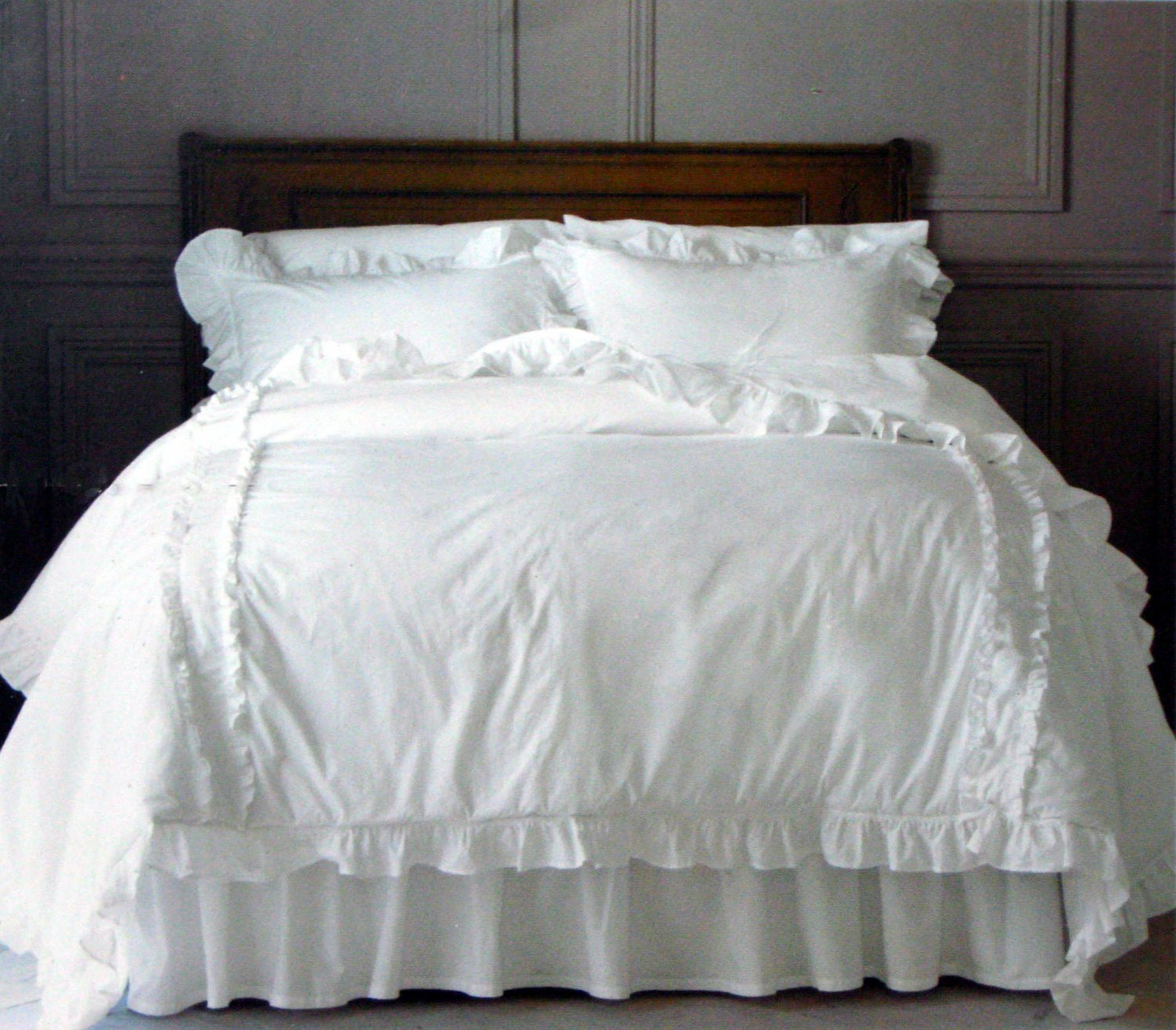 simply shabby chic heirloom king comforter no shams. Black Bedroom Furniture Sets. Home Design Ideas