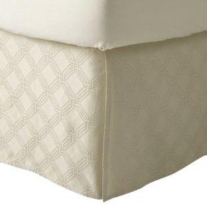 Fieldcrest Luxury ICON CREAM King Bedskirt Target