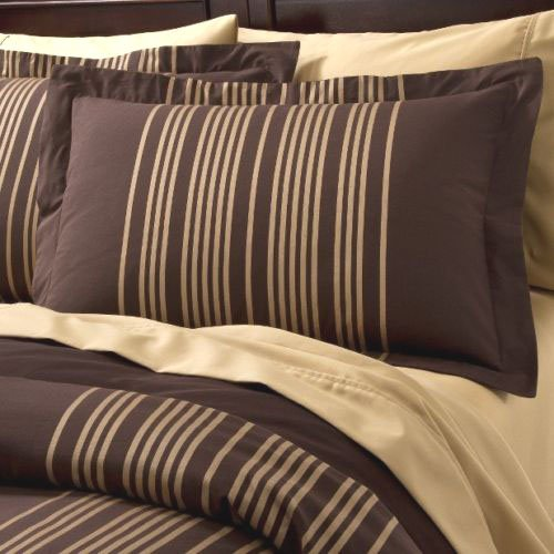 Fieldcrest Luxury Towel Price: Fieldcrest Luxury GOLD STRIPE King Duvet Set 2 Shams