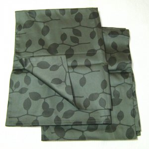 Calvin Klein STEEL VINES  2 Standard Shams Green Charcoal