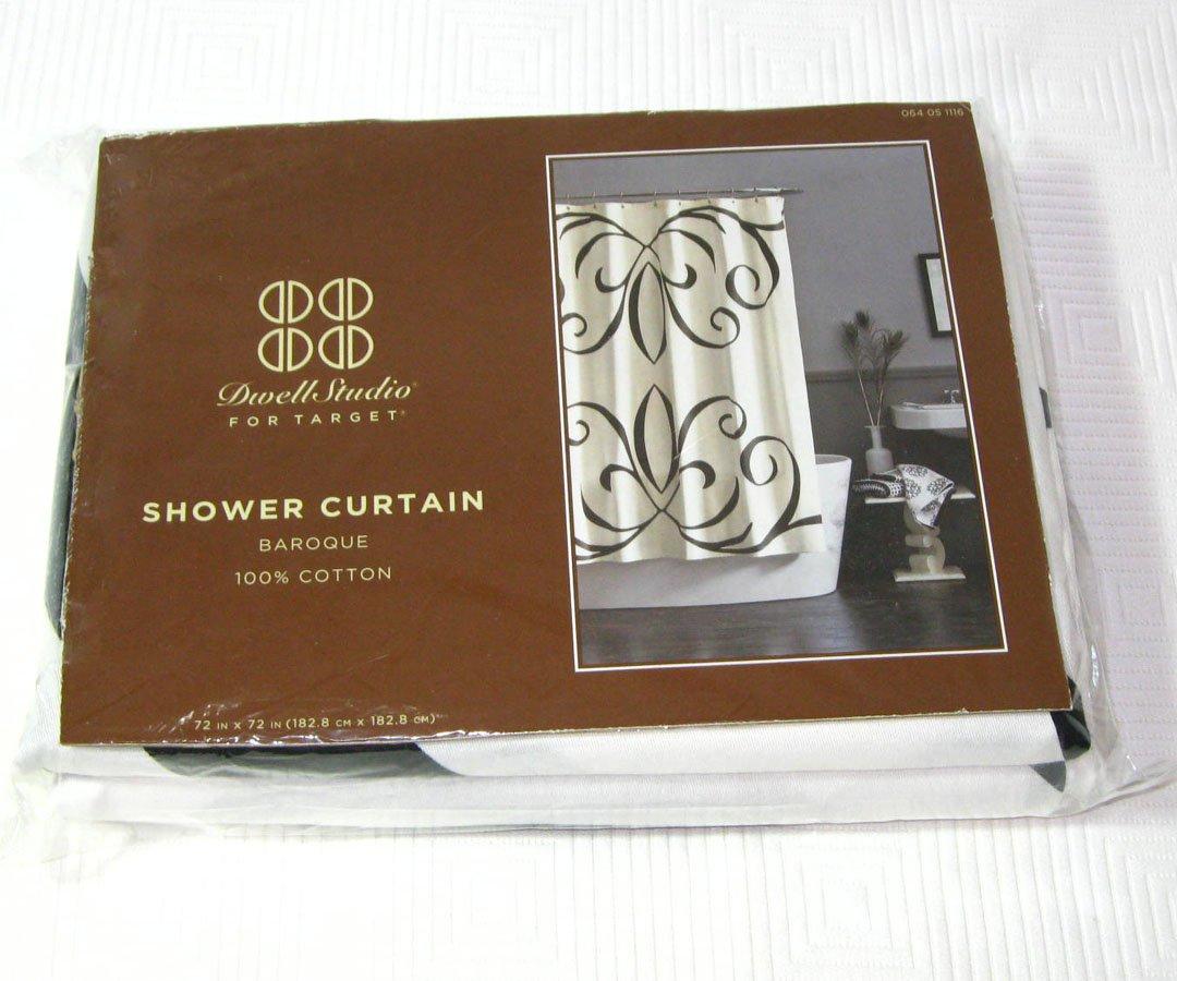 Dwell Studio BAROQUE Target Fabric Shower Curtain