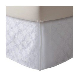 Fieldcrest Luxury ICON WHITE King Bedskirt Target