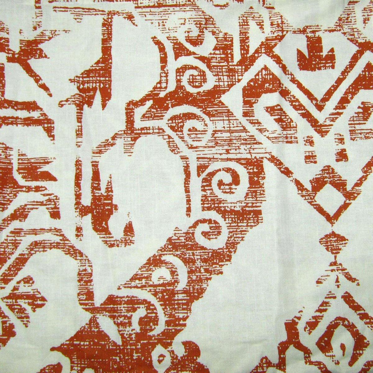Threshold AZTEC Rust Fabric Shower Curtain Target Terracotta Orange