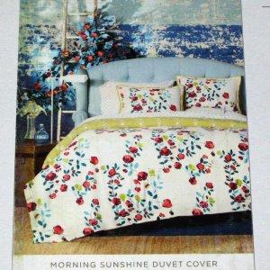 Springmaid MORNING SUNSHINE King 3 pc  Duvet Set Floral Multicolor