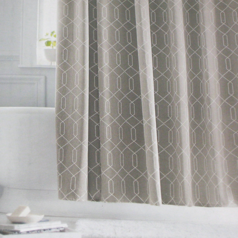 Target white shower curtain