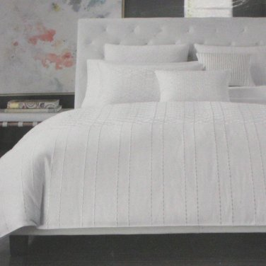 Hotel Collection SONNET King Bedskirt Macys tailored white cotton