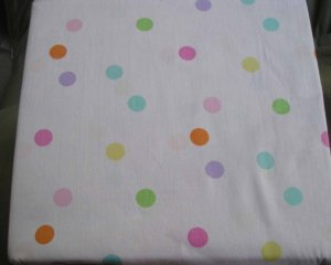 Girls Kids Polka Dot Twin Sheet Set Pink All Cotton New