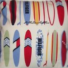 2 Tommy Hilfiger Surfs Up Surfboard Euro Pillow Shams Custom New