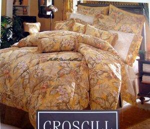 Croscill Island Bali Standard Pillow shams NEW