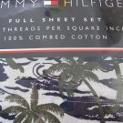 Tommy Hilfiger Roxbury Palms Full Sheet Set 4pc New