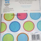 Wamsutta Twister Dots Standard / Queen Standard Pillowcases New