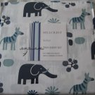 Hillcrest Safari Wild Animals Twin Sheet Set Cotton 310 thread count New
