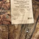 Croscill Newhill Queen COMFORTER SHAMs SET $290 New