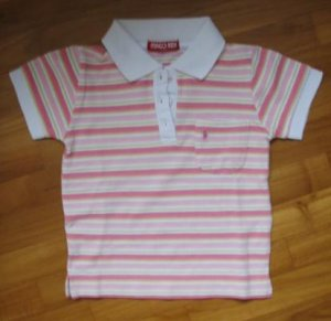 140 Sweet Pink Polo T Size 5