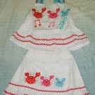 325 Little Cute Crab 2 Piece Set ( Size 5)