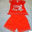 145 Rabbit Cute 2 Piece Set ( Size 5)