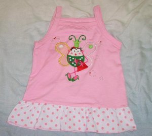 521 Queen Bee Cuttie Top - Pink (Suitable for 2-3 yrs old)