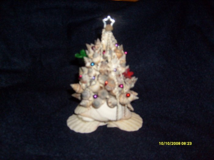 Christmas Shell Tree