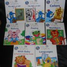 Lot 8 Walt Disney Baby Einstein Hardcover books FREE US SHIPPING