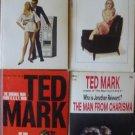 Lot 4 Ted Mark Paperbacks Adult Spy Novels FREE US SHIPPING