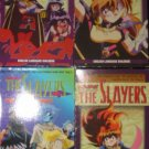Lot 4 Slayers Videos Manga Anime VHS FREE US SHIPPING
