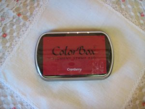 ColorBox Archival Quality Ink Pad #15025 Cranberry