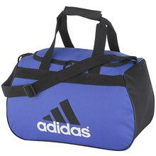 ADIDAS Diablo Small Duffle Gym Book Bag Blue Black NEW!