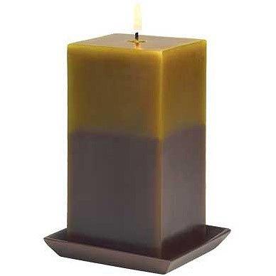 Earthtone Pillar Candle