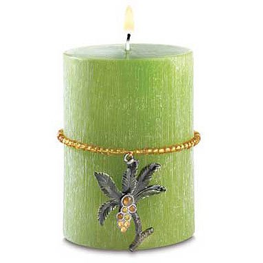 Tropical Candle with Charm