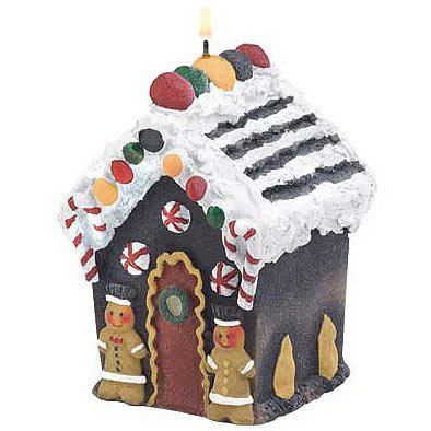 Gingerbread House Candle