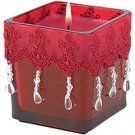 Moroccan Jeweled Candle